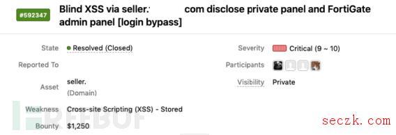 挖洞经验 | 利用Blind XSS发现目标系统内部票据管理和防火墙登录页面