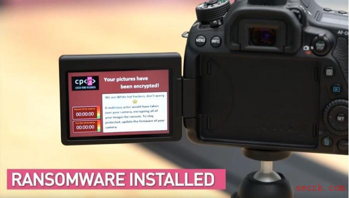 最新安全报告:单反相机已成为勒索软件攻击目标