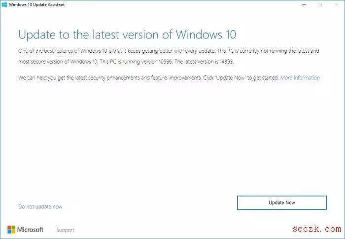 Windows 10更新助手中的安全漏洞为黑客打开大门