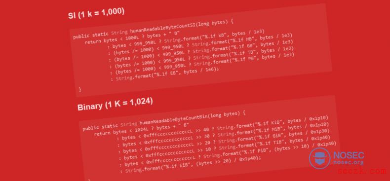 StackOverflow被复制最多的Java代码存在一个Bug