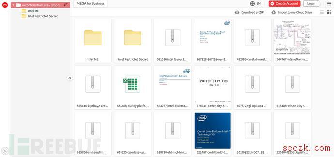 英特尔20GB内部数据泄漏 涉及其芯片机密知识产权