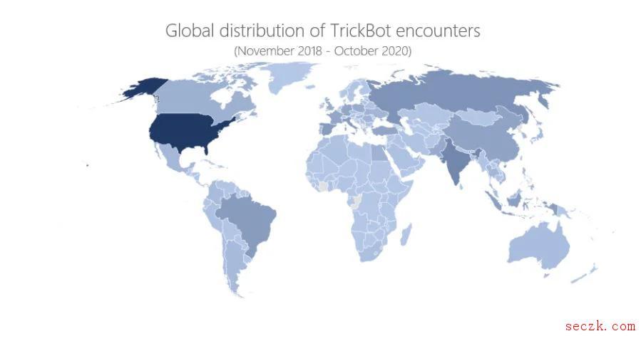 微软捣毁了臭名昭著的Trickbot勒索软件僵尸网络