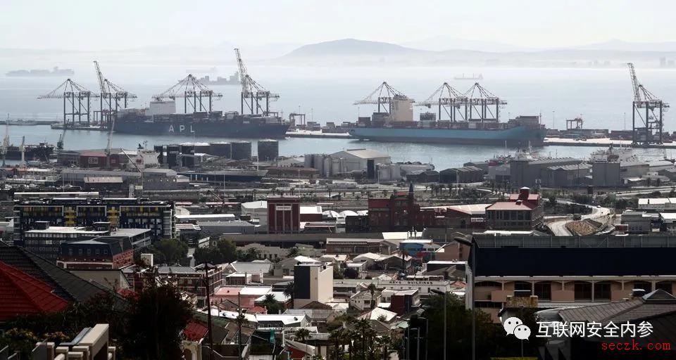 因遭受网络攻击,南非多个重要港口运输系统瘫痪